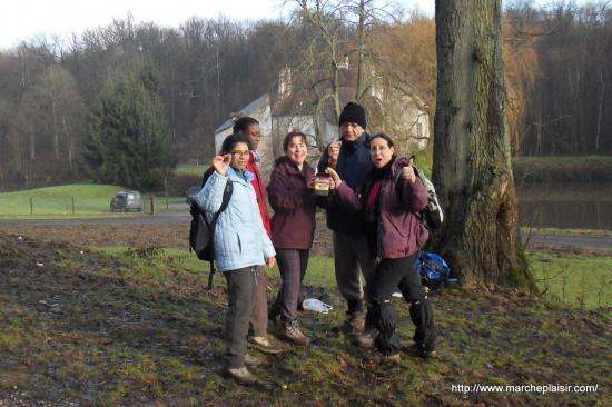Micheline, Maryse, Paula, Antoine, Annick
