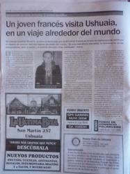 En el diario del fin del mundo! - Ushuaia