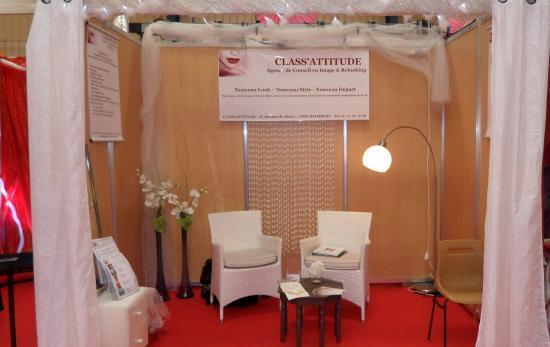 Stand Class'Attitude au Salon du Mariage à CHAMBERY