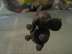 éléphant en porcelaine froide