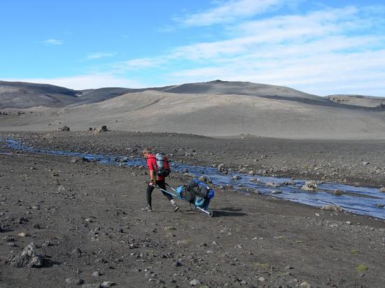 Traversée nord-sud de l'Islande en 2008