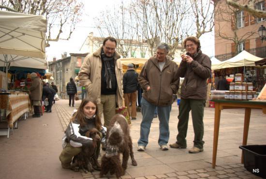 la Ponto team et Karine Moles, notre hote
