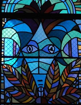 Vitraux Metz les vitraux de cocteau de l'église st maximin de metz