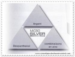 Microsilver Plus : argent, combinaisons en zinc, Dexpanthenol