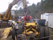 Destruction matériel lourd