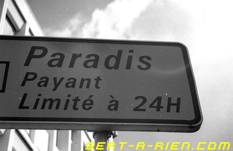 Paradis pas gratuit