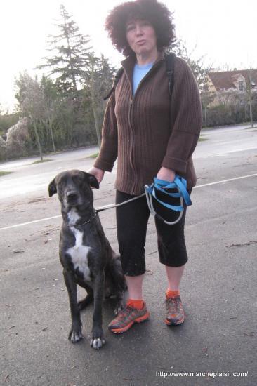 Nathalie et son chien