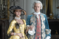 the king Louis XV and his mistress Madame de Pompadour