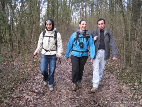 Marion, Annick, Bernard