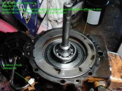 27 :  disque frité & plaque de pression