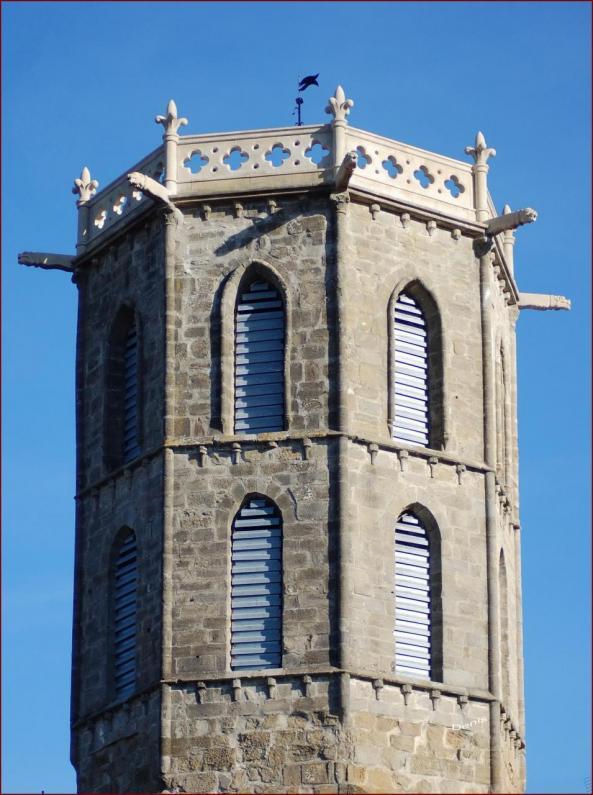 Le clocher a fière allure