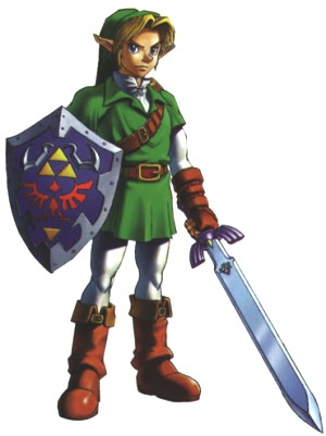 Link {The Legend of Zelda : Ocarina of Time} Link6
