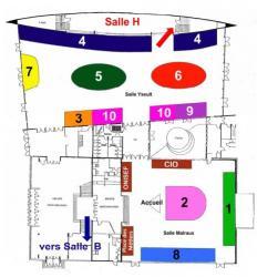 Plan du Forum 2011