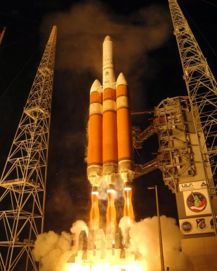 Photo du lanceur Delta IV Heavy