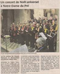 16 décembre 2008 - Le Pré en musique