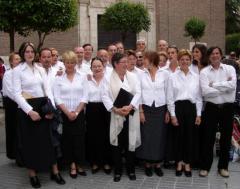 Valladolid (ES) - Le groupe avant le concert