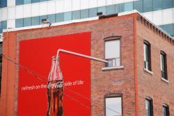 Un exemple de street marketing.