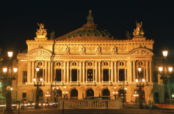 the Garnier Opera - Paris
