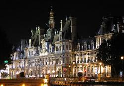 Hotel de Ville, townhall, Paris
