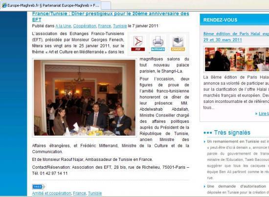 tunisie   la nouvelle  u0026quot bourde u0026quot  de georges fenech