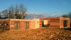 Pose maison fin janvier 2011