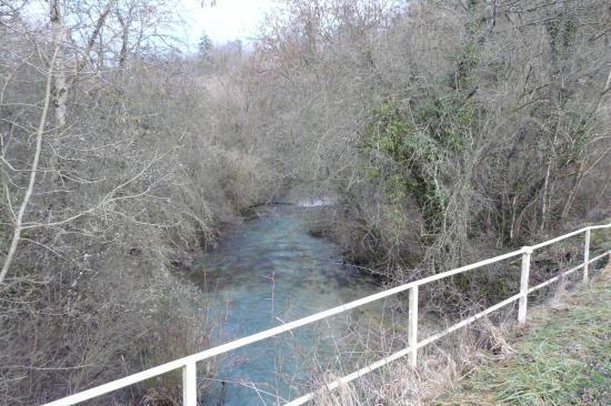Pont sur la Bouvade (route d' Ochey après Crézilles)