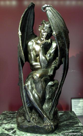 Jean-Jacques Feuchère (1807-1852),  Satan, Musée du Louvre