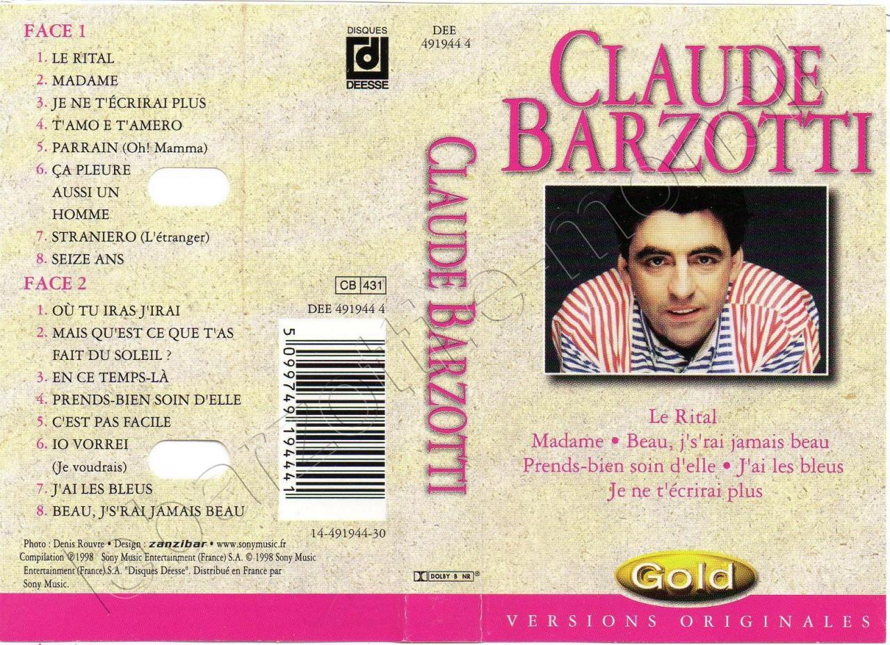 K7 audio bestof GOLD 1998