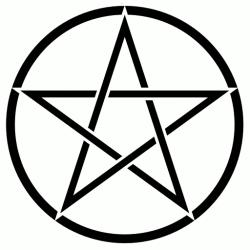 Le pentagramme droit