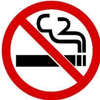 Le message sur les mauvaises habitudes sur le fumer