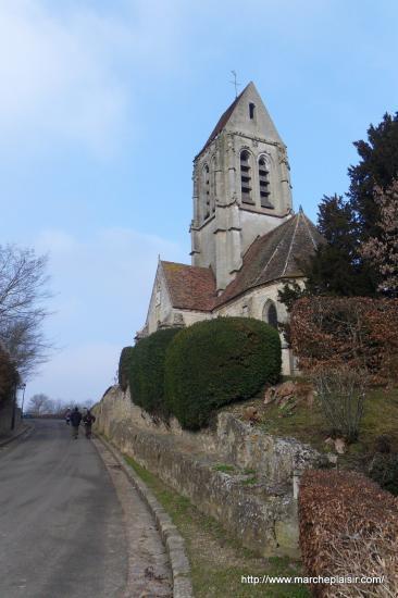 église Saint-Denis à Berville