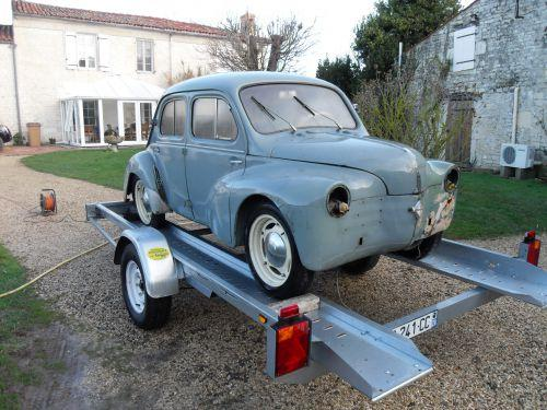 Renault 4cv sport 1956 for Interieur 4cv