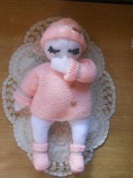 Poupée entièrement tricotée!!!