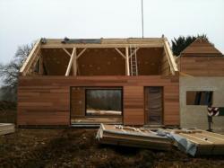 Déchargement panneaux de toiture