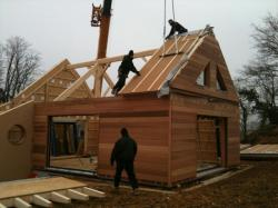 Pose panneau toiture 1