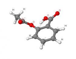Modélisation de la molécule en 3D