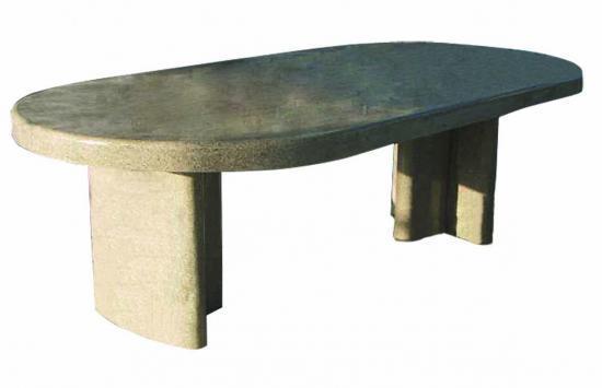table en granit salon de jardin en granit. Black Bedroom Furniture Sets. Home Design Ideas