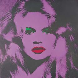 BB par Warhol en 1974