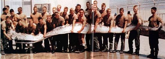 cryptozzologie Mékong naga le plus grand poisson du monde poisson ruban serpent de mer régalec regalec troy  oarfish roi des harengs autotomie Tyson R. Roberts Régalecus Glesne Régalecus Russellii