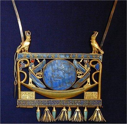 Bijoux pectoral de toutankhamon