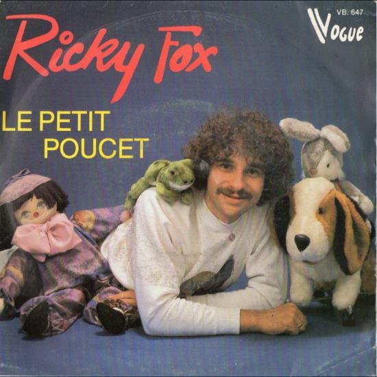 45 T Ricky Fox Le petit poucet / Le bateau pirate  1981