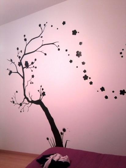 Dessins sur mur - Comment dessiner sur un mur de chambre ...