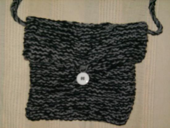 tricoter un sac en laine