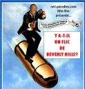 parodie affiche film cinema mix film ya til un flic de beverly hills