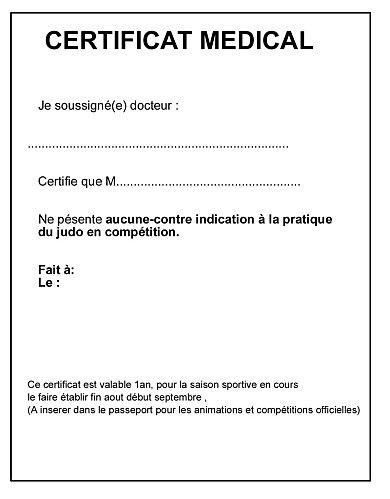 Certificat M 233 Dical Et Passeport