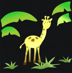 dessin girafe