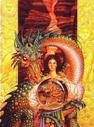 Mon petit frère Mnorgraz le guerrier rêveur et son dragon
