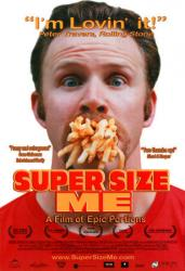 Affiche du documentaire Super Size Me