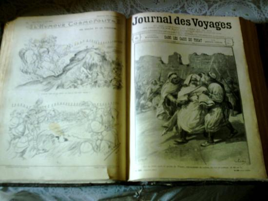 le journal des voyages de 1901. Black Bedroom Furniture Sets. Home Design Ideas