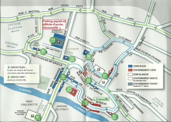 Plan De La Ville D Yerres
